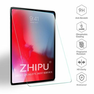 """9H Tempered Glass Film Screen Protector for Apple New iPad Pro 11"""" 2018 & 10.5"""""""