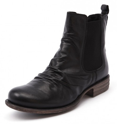EOS Willo Black Leather Ankle Boots RRP$220 Willow Chelsea Boot Miss Envy Shoes