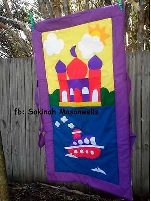 Kid's Prayer Mat Boat