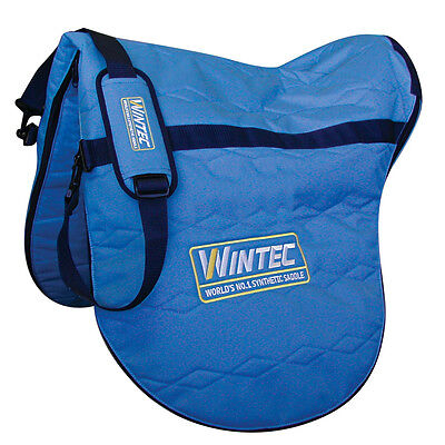 Wintec Zip Up Saddle Carrying/storage/travel Carry Bag With Shoulder Strap