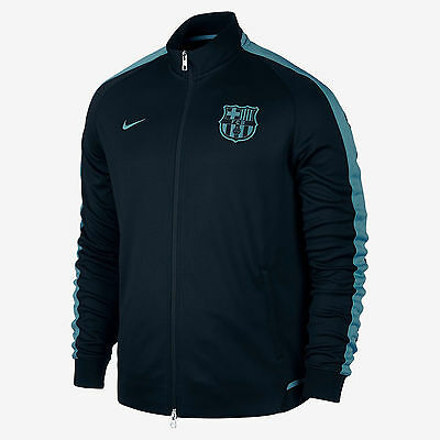 Nike 2015/16 FC BARCELONA Authentic N98 Night Rising Jacket 715016-010 Size M
