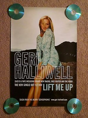 Geri Halliwell Ginger SPICE GIRLS Rare Promo Poster 1999 Lift Me Up