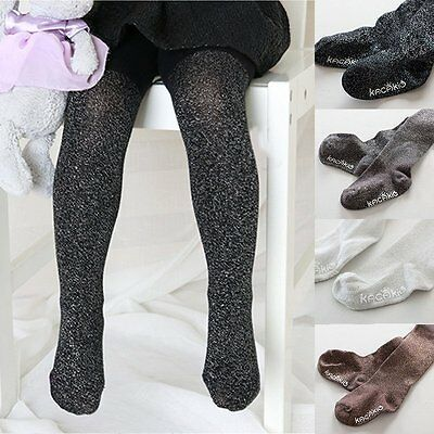 Baby Girl Toddler Kid Warm Tights Long Socks Pantyhose Anti Slip Socks Stockings
