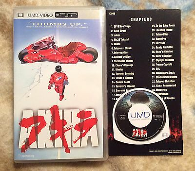 Akira UMD Movie PSP Playstation Portable Complete