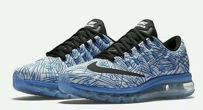 New Nike Womens Air Max 2016 Print Trainers Size Uk 7.5 Running Gym Fitness Yoga