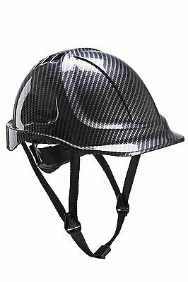Portwest Endurance Carbon Helmet Safety Headwear Protection Work Wear PC55