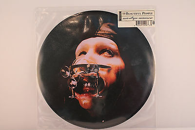 """Marilyn Manson – The Beautiful People (1997 UK Limited Edition 10"""" Picture Disc)"""