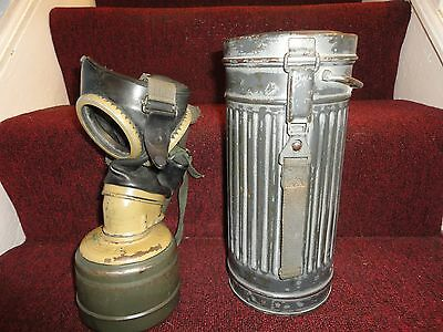 Africa Korps Wwii German Gas Mask