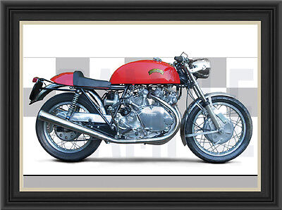 Vincent Egli 1000 Motorcycle Print /  Motorcycle Poster