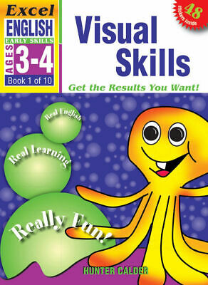 Excel Early Skills - English Book 1 - Visual Skills - NEW - 9781877085789