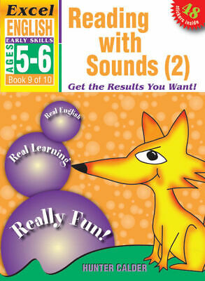 Excel Early Skills - English Book 9 - Reading with Sounds (2) NEW 9781877085864