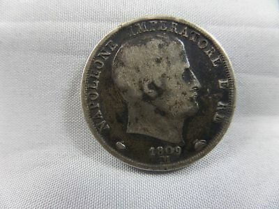 1809 Italy 2 Lire Coin