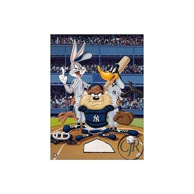 Warner Brothers ** At The Plate Yankees