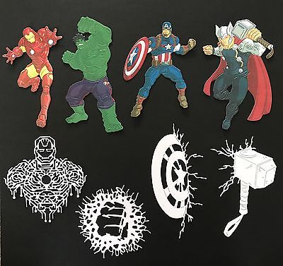 Disney Themed Marvel Avengers Die Cuts - With Extras