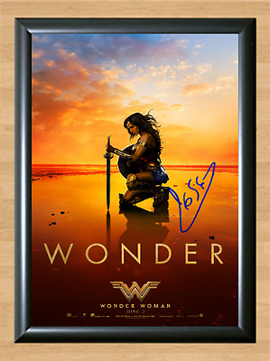 Gal Gadot Wonder Woman Signed Autographed A4 Photo Print Poster Memorabilia dvd