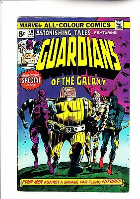Astonishing Tales 29 reprinting 1st app of Guardians of The Galaxy
