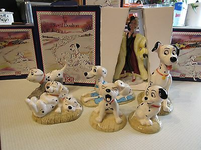 Royal Doulton 101 Dalmations Figurines