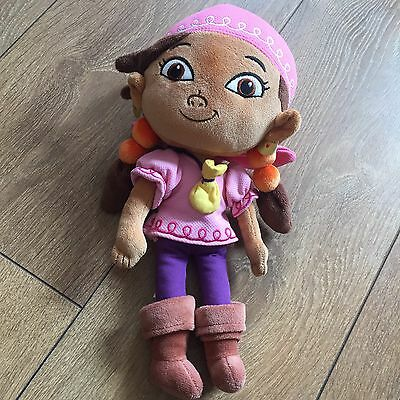 Izzy From Disney's Jake And The Neverland Pirates Soft Toy Teddy 12""