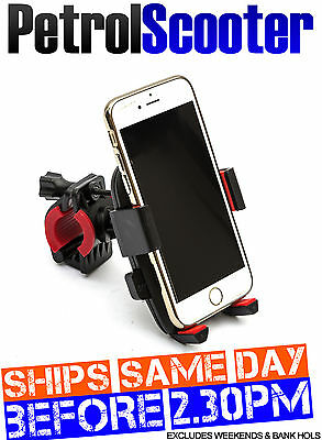 Mobile Phone Holder Motorcycle Motorbike Handlebar Mount Joystick Samsung Iphone