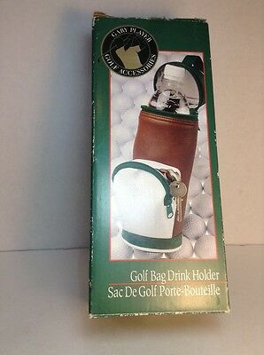 Vintage Gary Player Golf Accessories Golf Bag Drink Holder