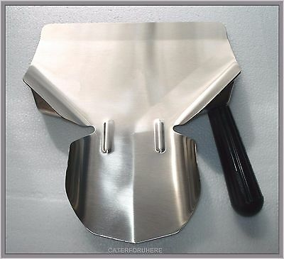 Heavy Duty Chip Bagger Scoop Shovel French Fries Right Handed Catering Take Away