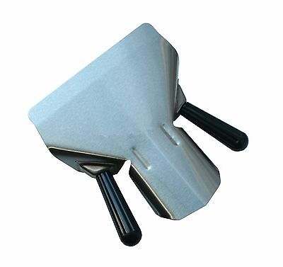 Heavy Duty Chip Bagger Scoop Shovel French Fries Right Left Dual Handed Catering