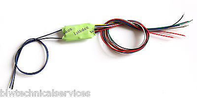 Laisdcc motor + 4 Function bare wire  DCC Decoder. UK Stock