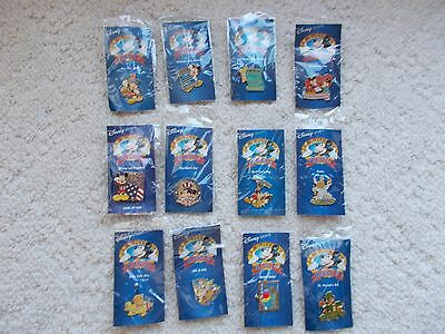 Disney 12  Months of Magic lot of 12 pins NEW!!!!