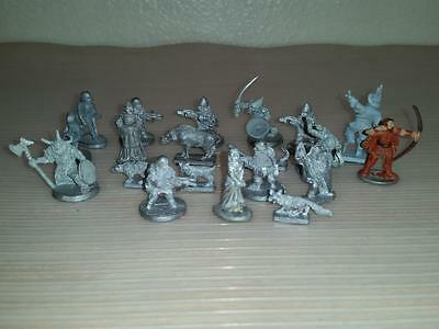 Lot of 21 Ral Partha Grenadier Miniatures Dungeons Dragons War 1988 1989 1990