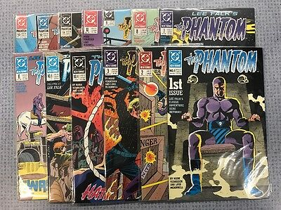 The Phantom 1-13 1989 NM Complete Set