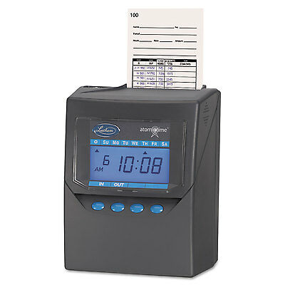 Totalizing Time Recorder, Gray, Electronic, Automatic-LTH7500E