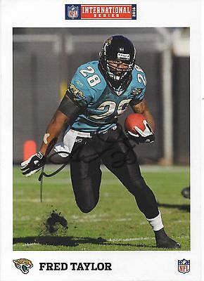 2016 International Series Autographed card FRED TAYLOR Jaugers
