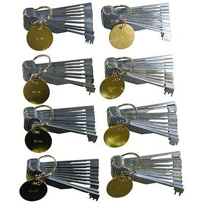Locksmith Professional Souber Try Out Key Set Complete Set. Lock Pick