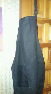 Black Apron!        Great Condition!     100% COTTON!        Very Nice!