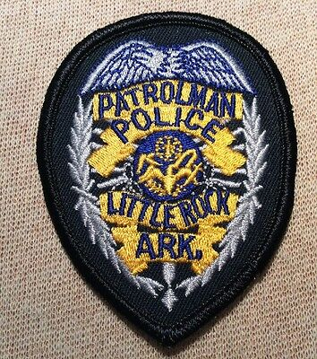 AR Little Rock Arkansas Patrolman Police Patch (3In)