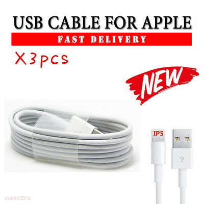 3M 2M 1M Cable fr iPhone X 8/7/7s/6S/6/5S Extra Long Charger USB Data Lead Cable