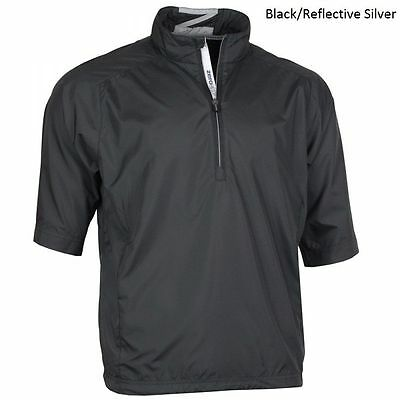 New ZERO RESTRICTIONS Golf MENS (Size- Large) CLOUD BLACK Windproof JACKET