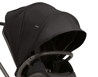 GENUINE Mamas and Papas MYLO MYLO2 PUSHCHAIR HOOD BLACK New