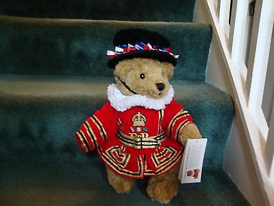Great British Beefeater Teddy Bear in full costume and hat