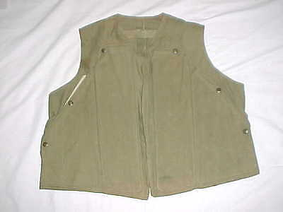 "ORIGINAL & UNUSUAL USN ""Experimental"" Ballistic Vest Worn By Seabees In Korea!"