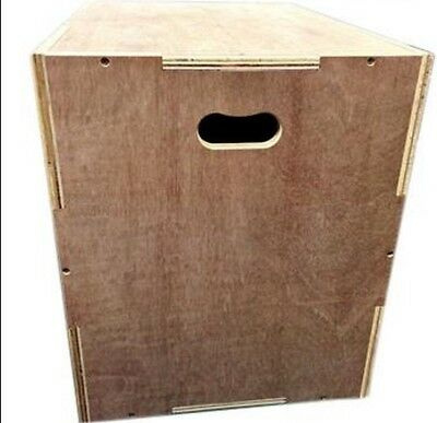 3-in-1 Wooden Plyo Box Flat Packed
