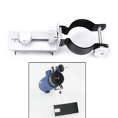 Metal mobile phone camera adapter,telescope Connecting mobile adapter clip JR