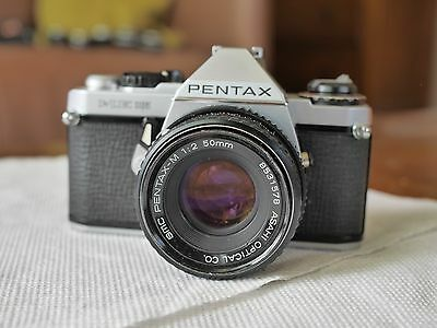 Pentax ME super with 50mm f2 lens