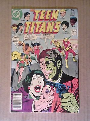 Teen Titans #48 (Jun 1977, DC) 1st Bumblebee & Joker's Daughter as Harlequin