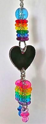 Birdtalk Bird Toys Heart And Beads Free Foot Toy Orders Over $25