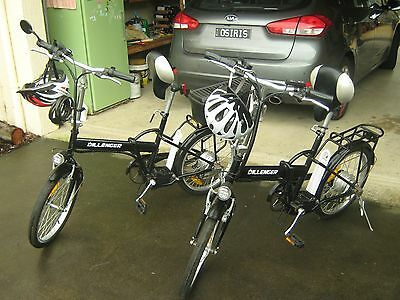 Two (2) Dillinger Electric Folding Bikes