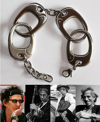 Keith Richards Style Handcuff Bracelet - Keef Rolling Stones Jewellery Accessory