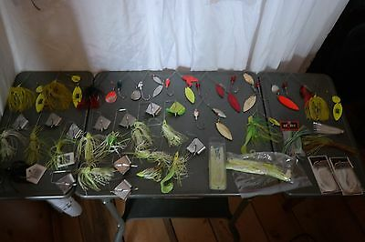 Fishing Accessories Baits Lures Spinnerbait Buzzbait Skirts (29)