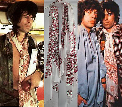 Keith Richards Style Scarf - Keef Rolling Stones Scarves