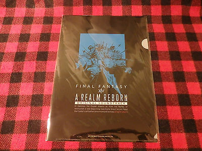 A REALM REBORN Clear File FFXIV FINAL FANTASY XIV Not For Slae Free Postage F/S